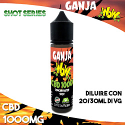 Ganja WoW CBD 1000 Concentrated 20ml