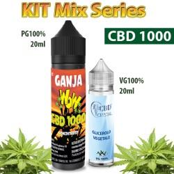 Ganja WoW CBD 1000 Mix and Vape