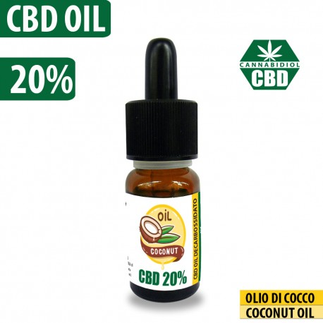 CBD OIL 20% COCONUT