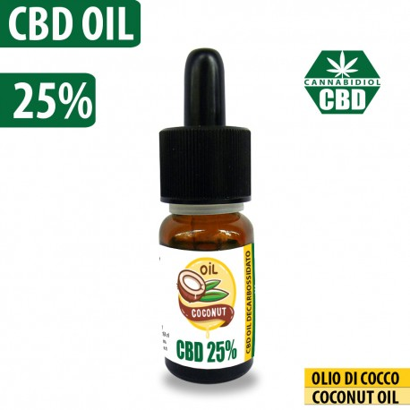 CBD OIL 25% COCONUT