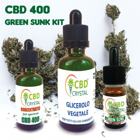 Green Sunk Kit CBD 400