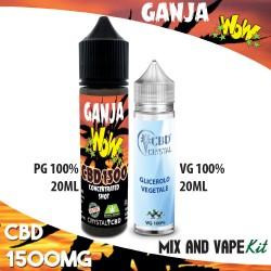 Ganja WoW CBD 1500 Mix and Vape
