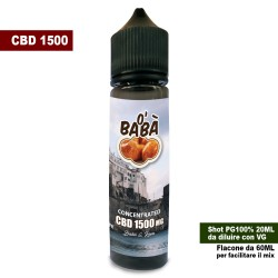 O' Babà CBD 1500 Concentrated