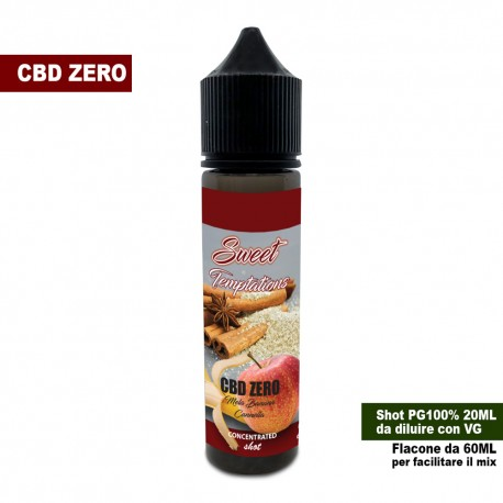 Sweet Temptations CBD ZERO Concentrated