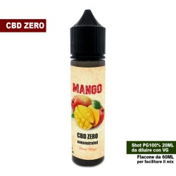 Mango CBD ZERO Concentrated