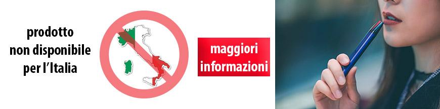 prodotto non disponibile per italia
