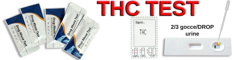 Test monouso per il THC